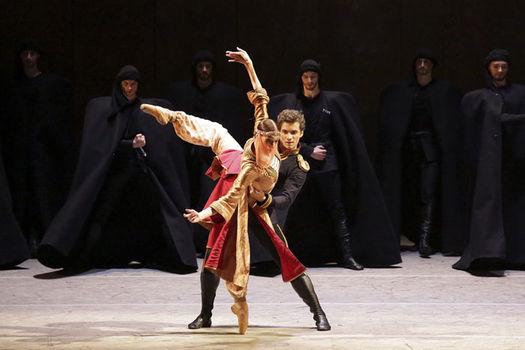 """""""Hero of our time"""", por el Ballet del Bolshoi."""