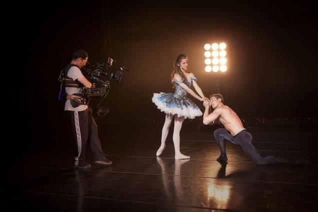 """""""Breaking Pointe"""", reality que dramatiza el mundo del ballet a través de las experiencias de un grupo de bailarines del Ballet West, en Estados Unidos. Foto: Gentileza."""