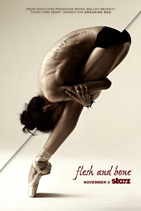 "Afiche de ""Flesh and Bone"". Foto: Gentileza."