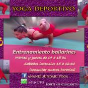 flyer yoga deportivo