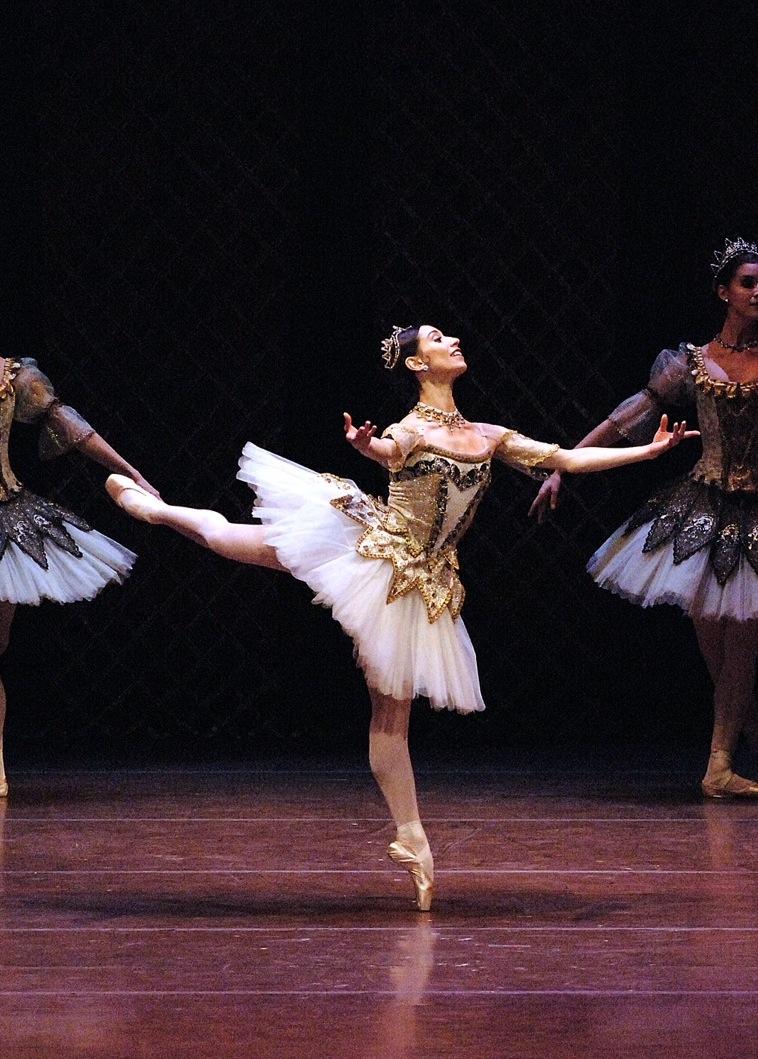 Erica Cornejo fue solista en ABT y hoy Principal en el Boston Ballet. Técnica impecable y profundidad escénica. Foto: Gentileza.