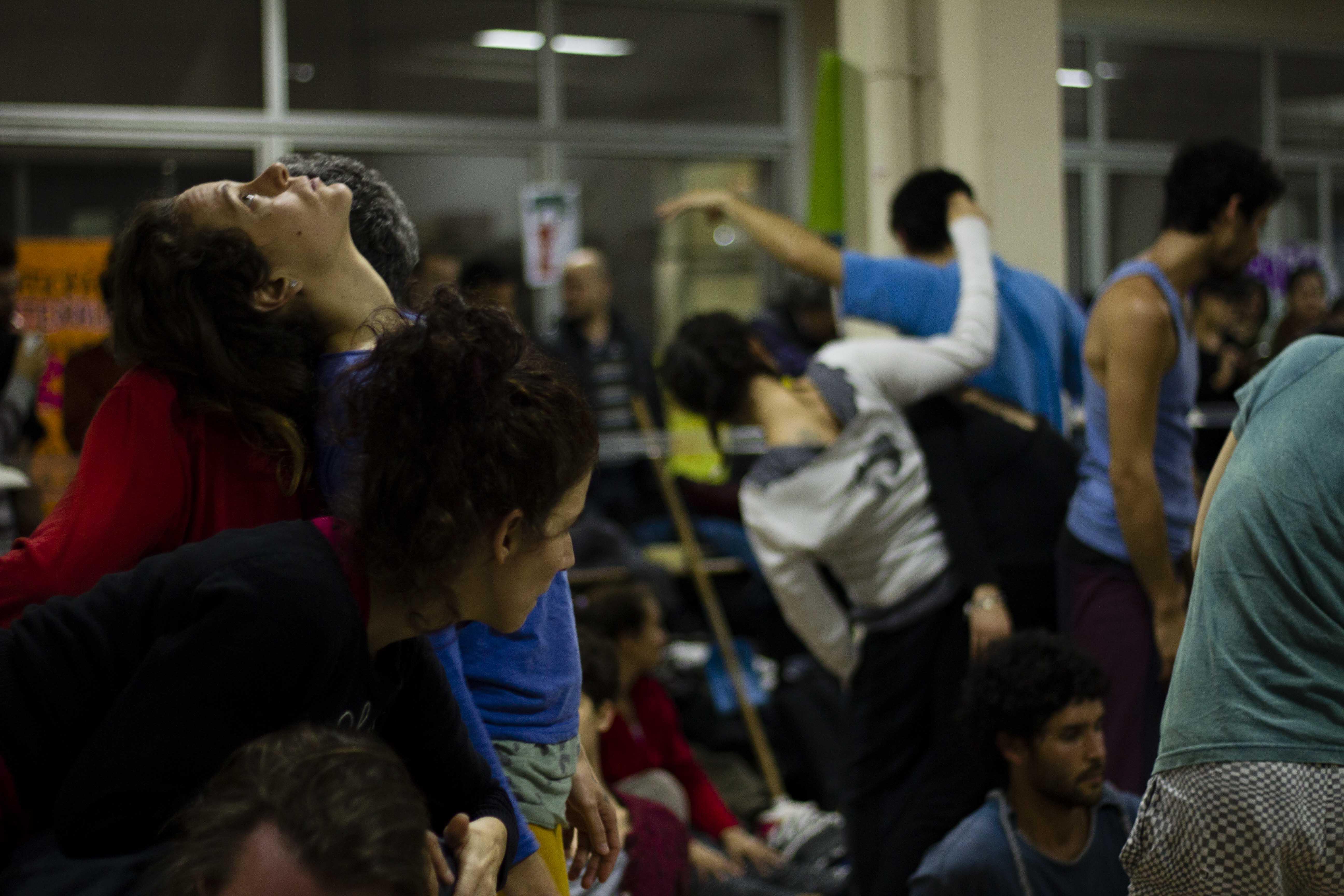 Jam en la Facultad de Ciencias Sociales, de la UBA. Foto: Aurora Austral.