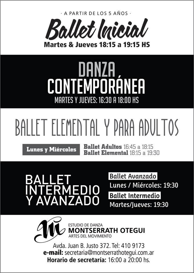 Flyer Ballet Montserrath Otegui