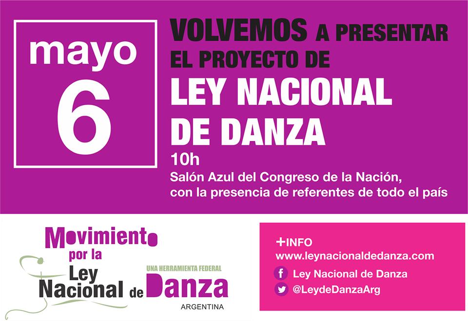 Ley Nacional de Danza 2016