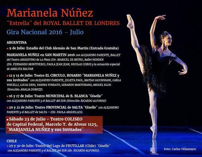 Marianela Nuñez Gira Argentina 2016