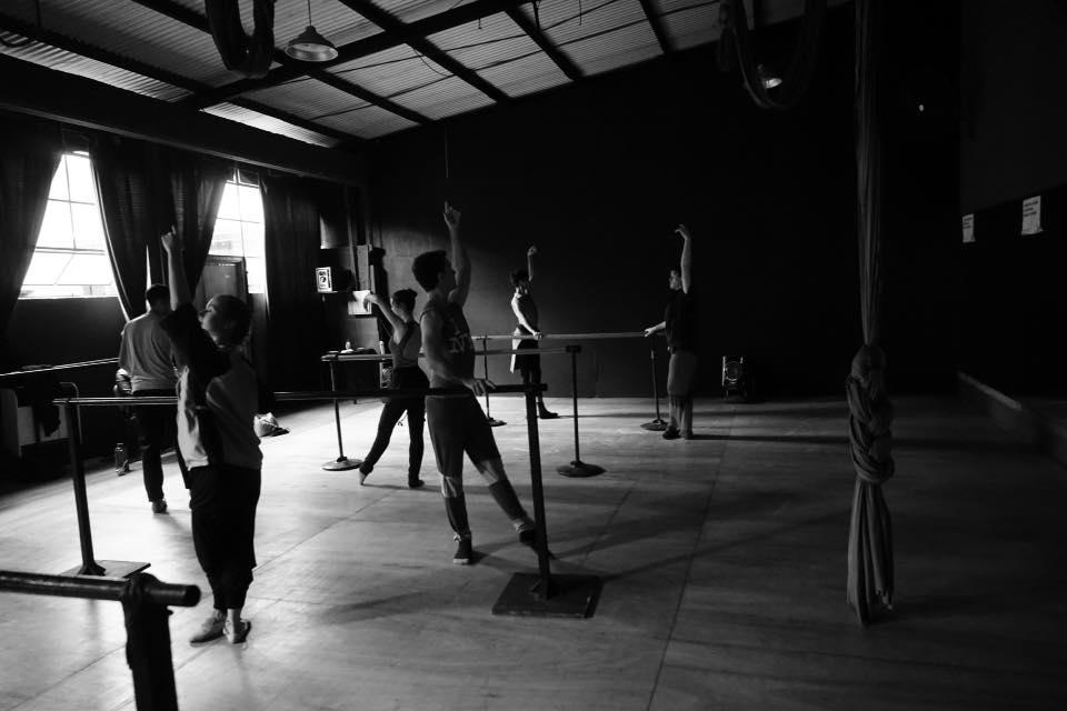 Andróginos, trabajando. Foto: Gentileza.