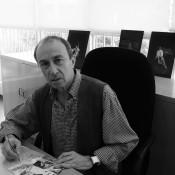 El Maestro Galizzi, en su despacho en México. Foto: Cortesía CND/ Carlos Quezada.