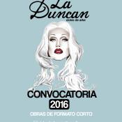 flyer convocatoria La Duncan