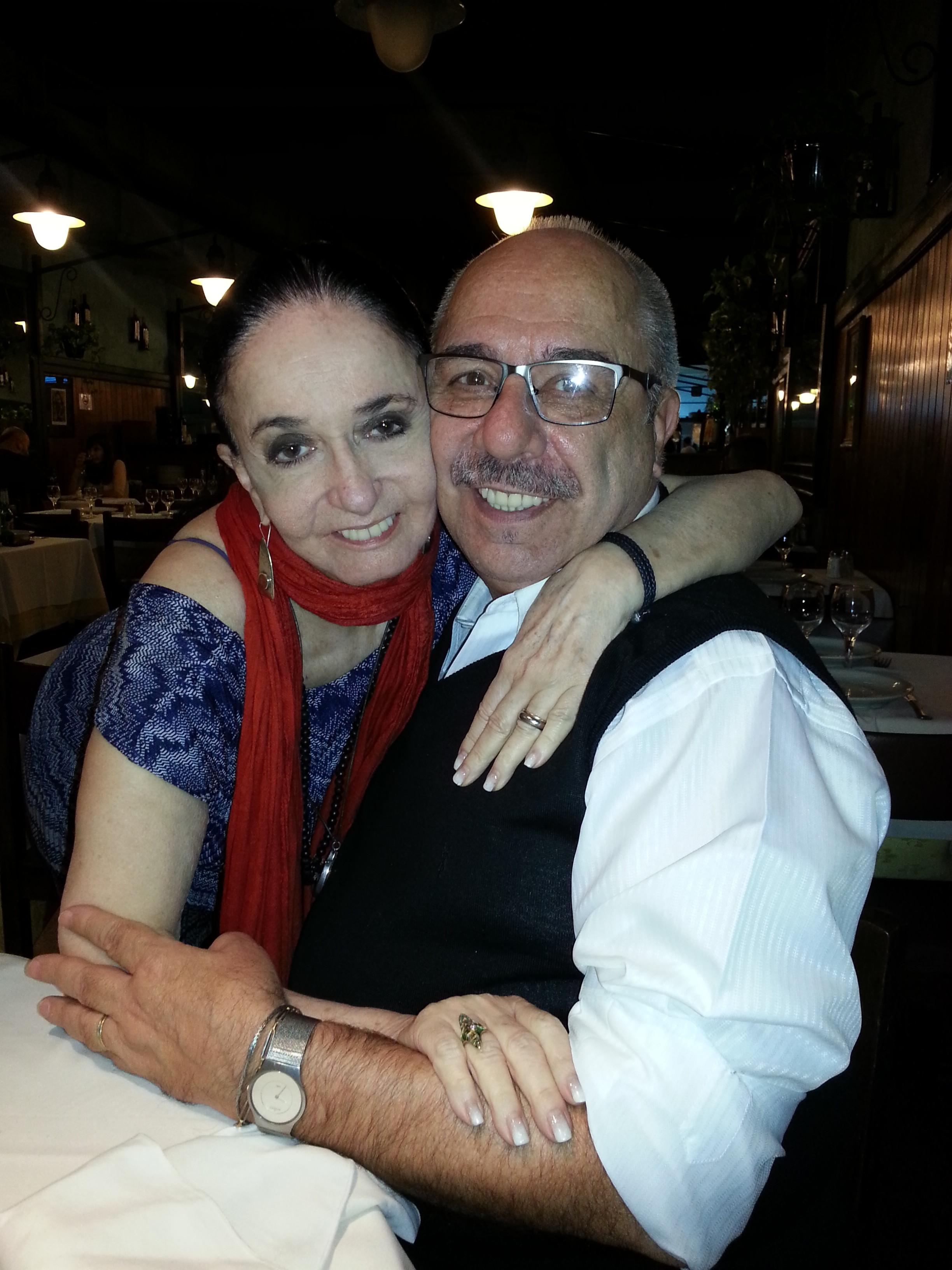Juan Lavanga, junto a Marcia Haydee. Foto: Gentileza.