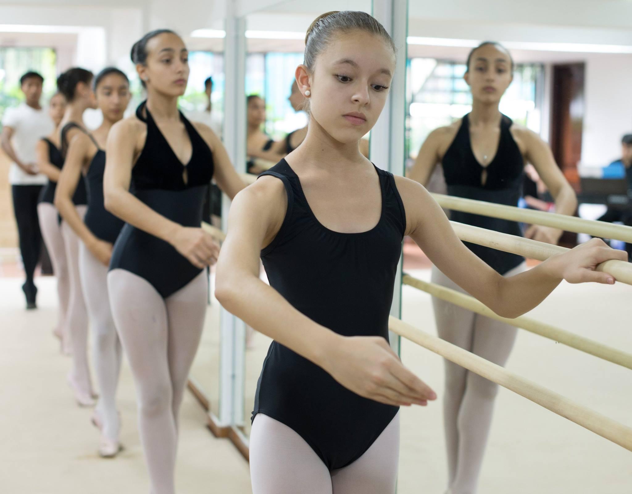 La Escuela Oficial de Ballet de la Provincia de Salta. Foto: Gentileza.