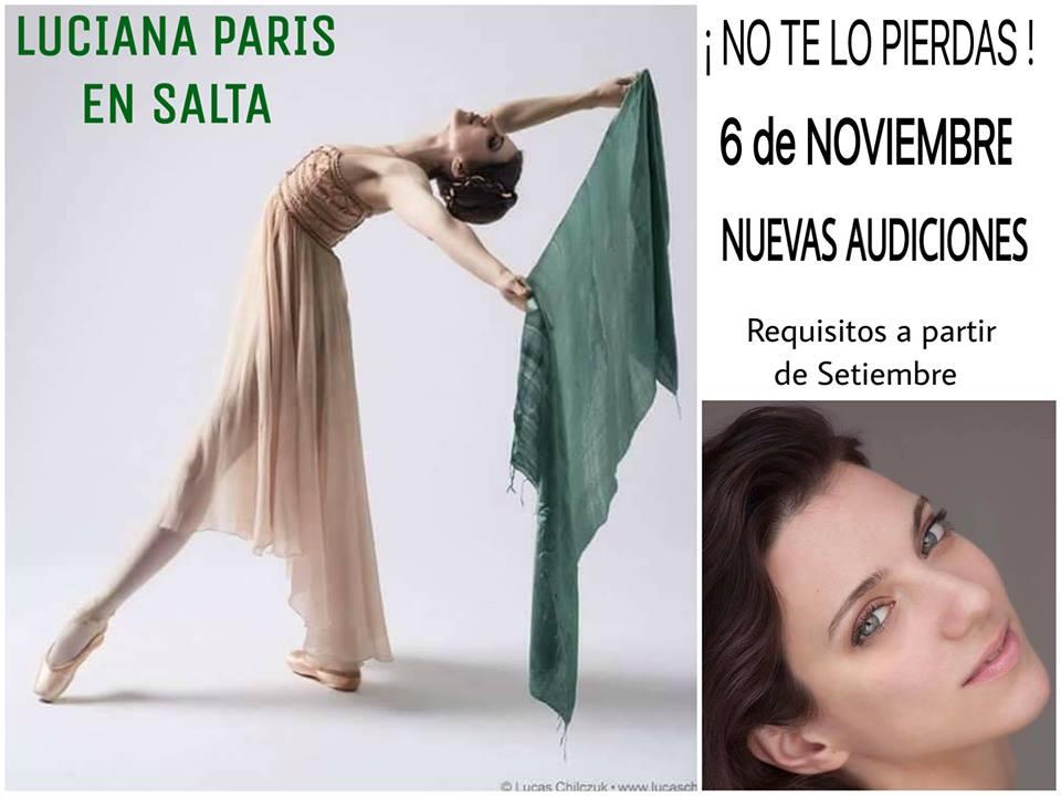 Luciana Paris en Salta